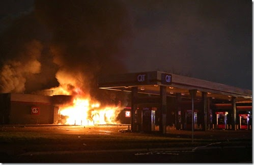 QuikTrip burned