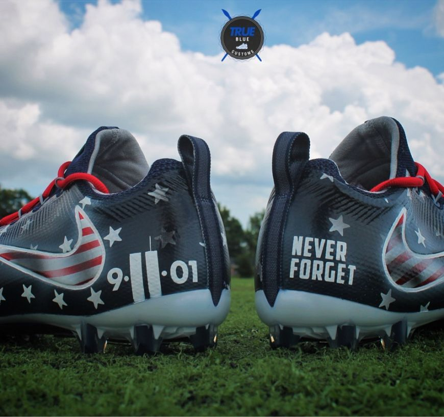 cleats-9-11-never-forget