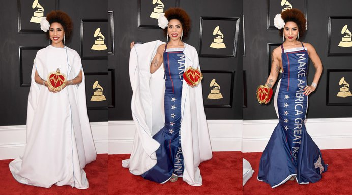 joy villa grammy reveal